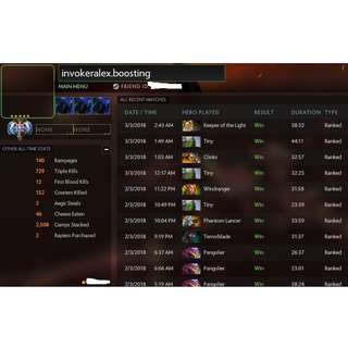 DOTA 2 MMR BOOSTING / CALIBRATION SERVICE !