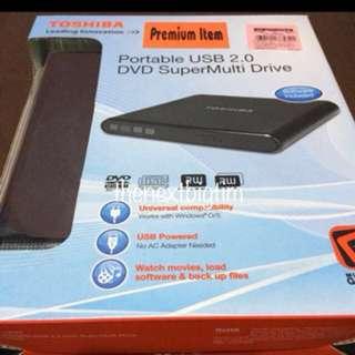 Toshiba Portable USB 2.0 DVD SuperMulti Drive