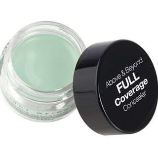 INSTOCK NYX Above And Beyond Full Coverage Green Corrector Concealer / NYX Cosmetics Above & Beyond Concealer in CORRECTIVE GREEN