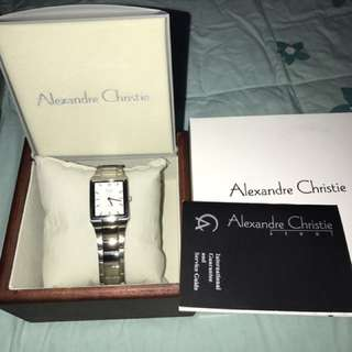 Alexandre Christie ladies dress watch