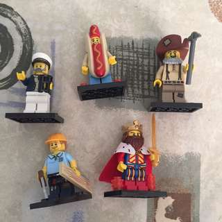 Lego Assorted Collectible Minifigures