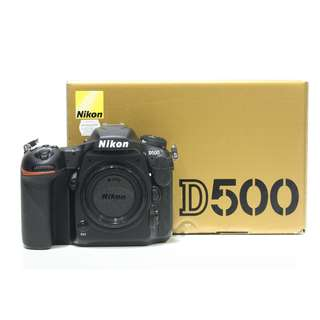 Nikon D500 DSLR Body Only (SC: 20K+)