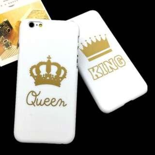 King & Queen iphone cases