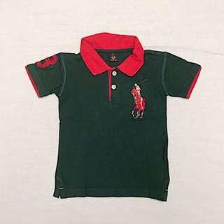 Baju Anak Polo Shirt merk Muspolo (Boy 3 yo) #MakinTebel
