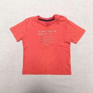 Baju Anak Kaos Merk Merk S. Oliver (Boy size 3-6 mo) #MakinTebel