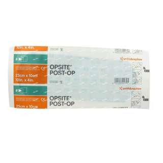 Opsite post op waterproof dressing 25cm x 10cm (avail in 2 pcs)