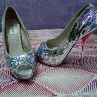 Cinderella sexy elagant shoes size 5.5-6