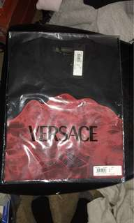Versace Wireframe Medusa Head T-Shirt