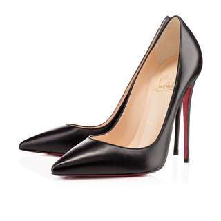 Authentic Christian Louboutin So Kate Black Kid Leather RRP $945 in stores and online