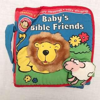 Buku Anak Baby's Bible Friends Bhs Inggris Bahan Kain (9-18 mos) #MakinTebel