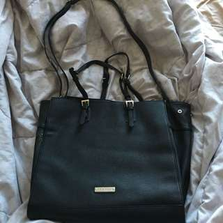 Steve Madden authentic black tote/work bag