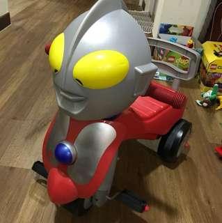 Ultraman cycle ride-on