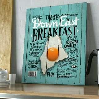 Frame Poster Deco Kitchen