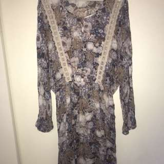 NEW wish boho dress - size M - suit 10 12 - RRP $179