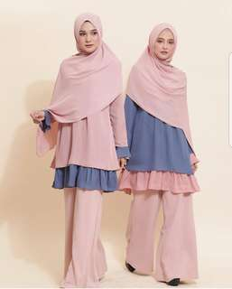 Babydoll Top Tunic Blouse by Uswah
