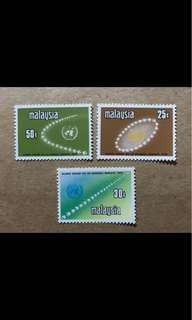 Malaya stamps mint very fresh gum  3v stamps very light Mounted