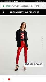 DI CARI!!! Celana merah viynl