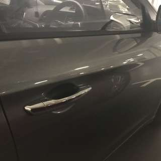 Hyundai Elantra 2017 door handle chrome cover