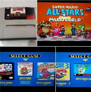 Super Mario All Stars with Mario World