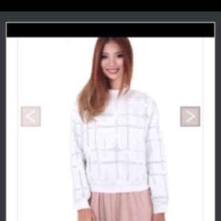 Sale Price $18 Mgp Harris Faux sweater