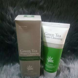 3W Clinic Green Tea Facial Foam