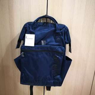 [InStock] Japan Anello Limited Edition Repellency Waterproof Classic Backpack~ 100% Original Authentic ☆Navy ☆FSO-B001
