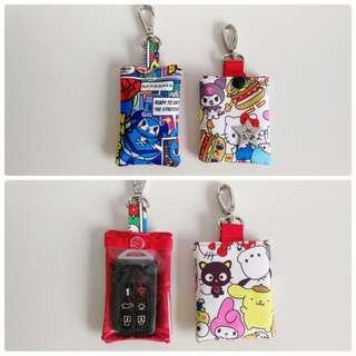 Jujube car key pouches