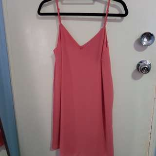 Pink dress sz xs or sz 8-10