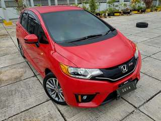 Honda Jazz RS 1.5 cvt / 2014 / merah metalik
