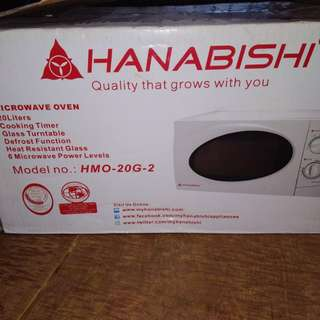 Microwave Oven 2days used.
