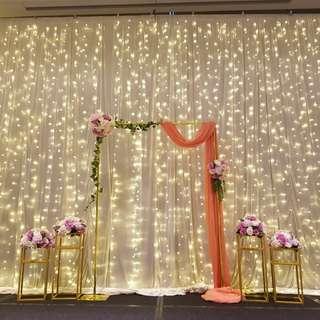 [Rental] Wedding venue set up