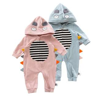 Dinosaur Baby Romper, Long Sleeve Jumpsuit, Animal Baby Jumpsuit