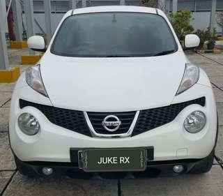 Nissan JUKE Rx 1.5 Cvt 2014 putih metalik
