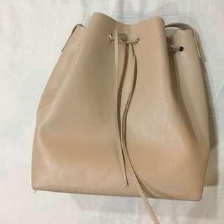 Forever 21 Nude Bucket Bag