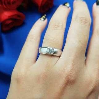 Cincin Wedding silver bisa buat copple lan mirip aslinya