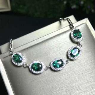 🍍Natural Green Topaz Bracelet🍍