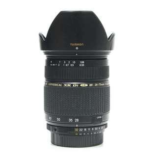 Tamron 28-75mm F2.8 Macro Zoom Lens (Nikon Mount)