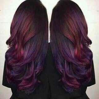 Hair color conditioner