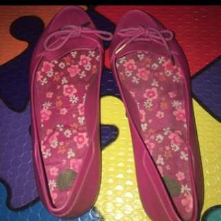Melissa Pink Jelly Shoes
