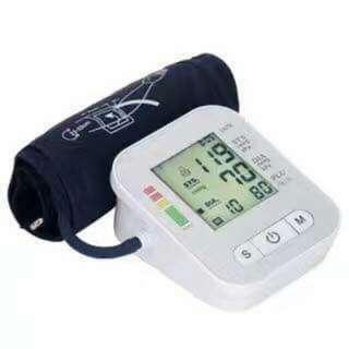 Digital blood pressure test