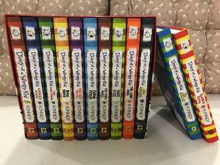 Diary of a Whimpy Kid, hardcover (Books 1-12)