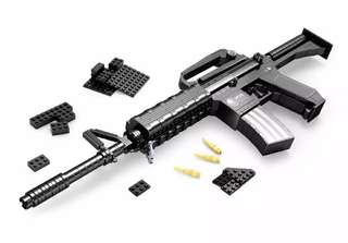 Completed M16 Lego Toy Gun