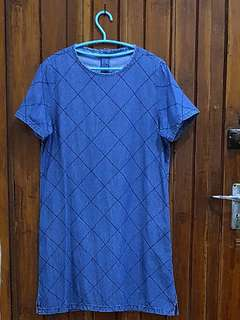 Preloved THE EXECUTIVE Denim Dress