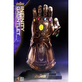 [PREORDER] Hot Toys LSM006 Avengers Infinity War Life Size Infinity Gauntlet Thanos