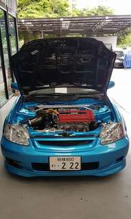 Honda Civic EK9 B18CR