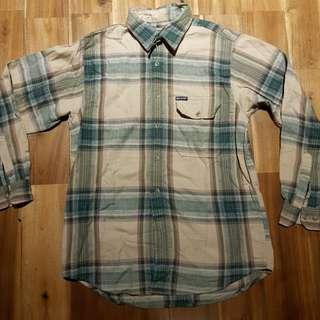 BNWT Baleno Plaid Long Sleeved Button Down Shirt