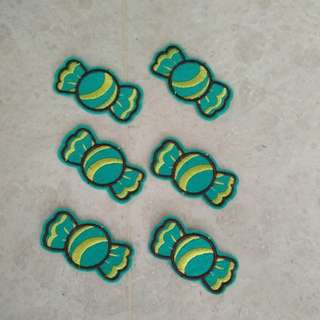 Sew on Patch - Green Candy Sweet