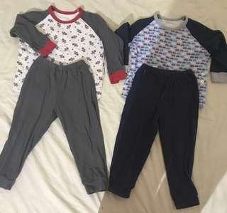 2 Pack - Uniqlo Baby Pajamas