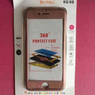 iPhone 6/6s 360° Protect Case-Rosegold