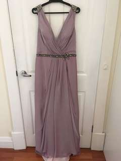 Beautiful Lilac Evening Dress